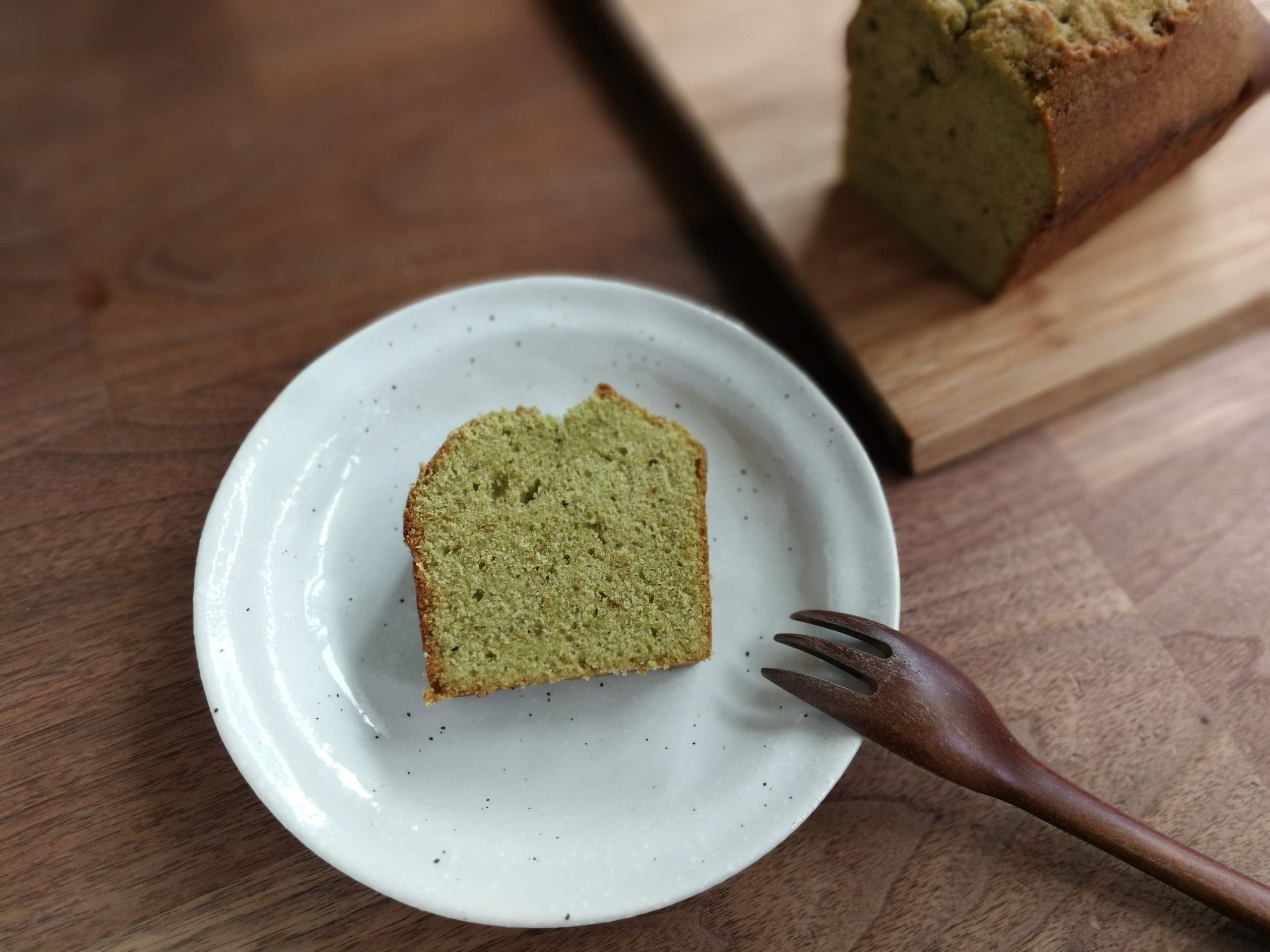 抹茶のパウンドケーキ レシピ