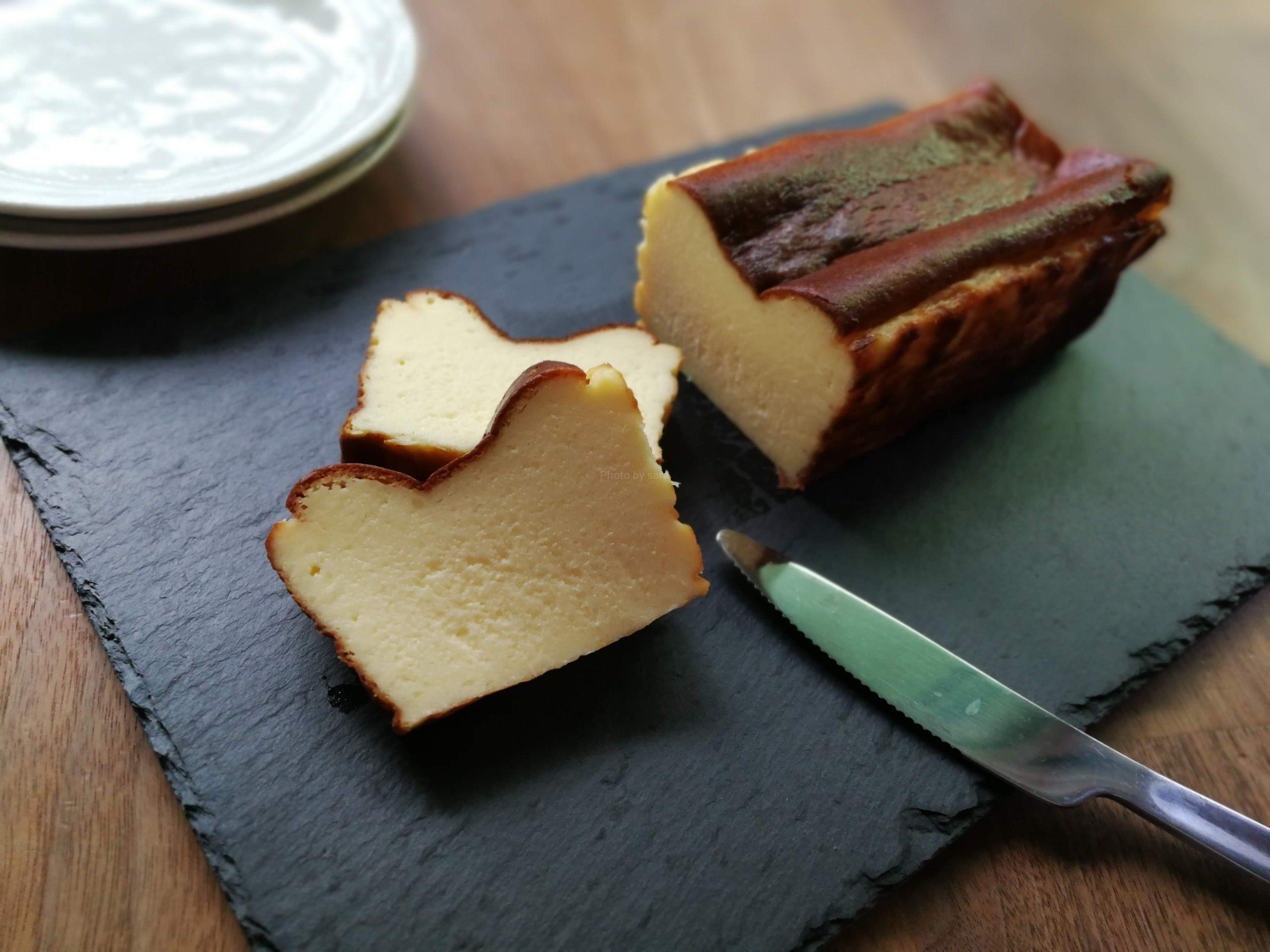 バスクチーズケーキ パウンド型 レシピ バスチー