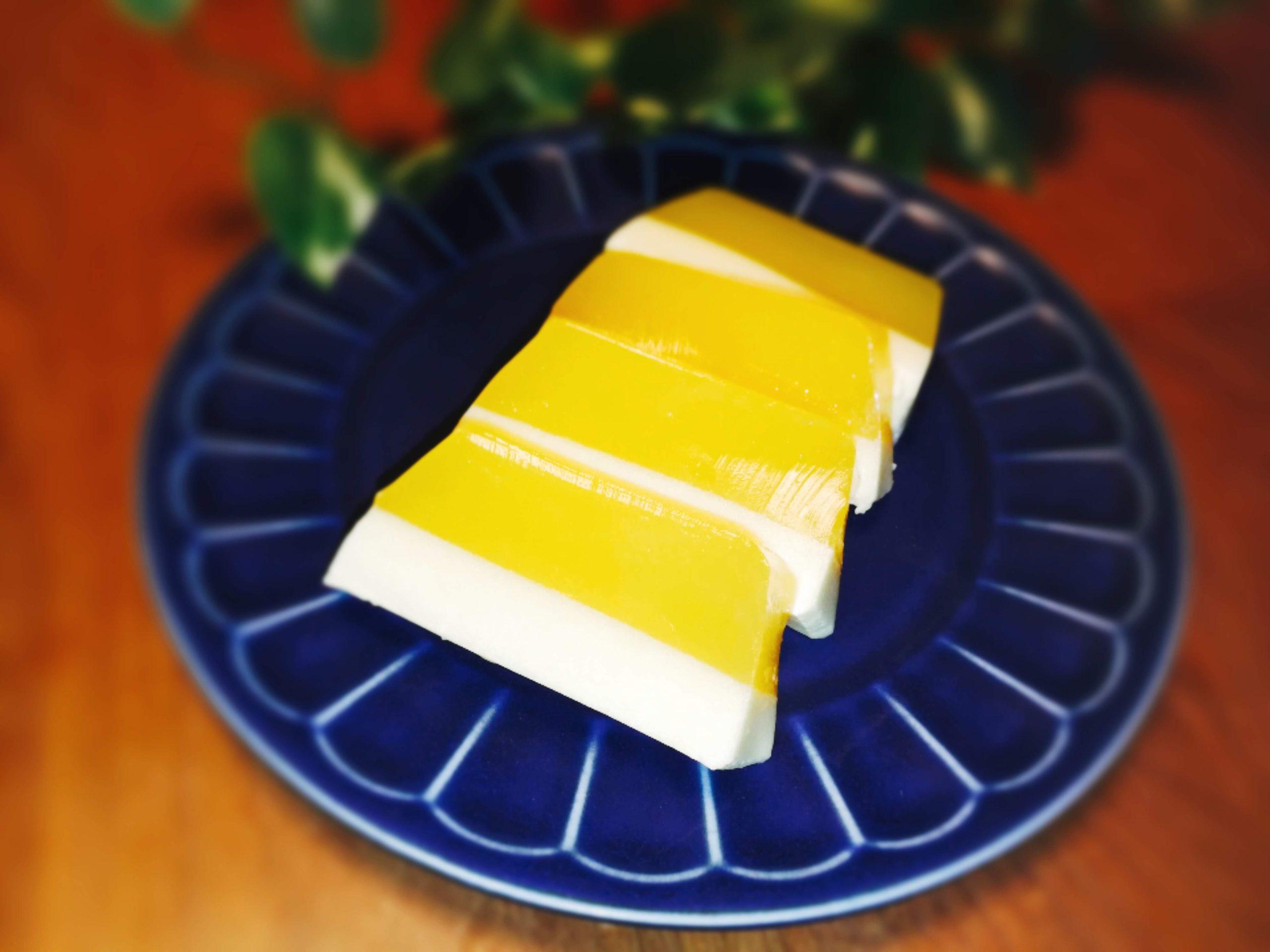 2層ゼリー オレンジゼリー パウンド型 レシピ