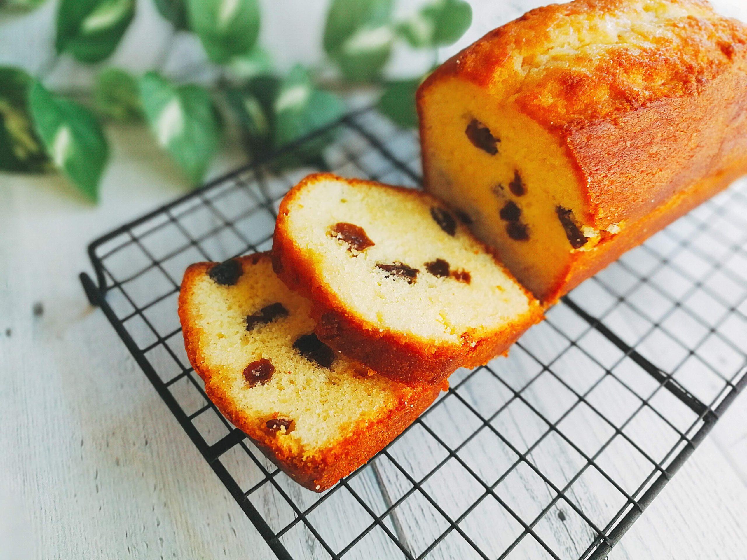 みりん レーズンパウンドケーキ レシピ