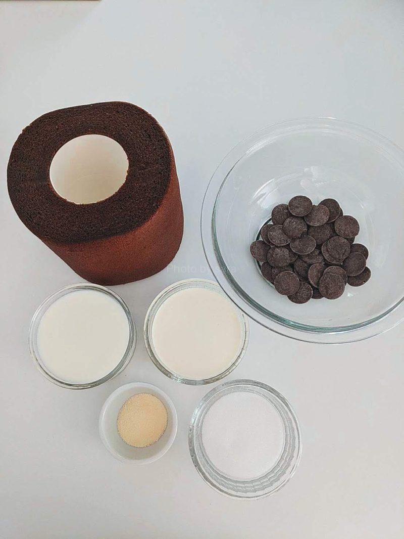 特大塩チョコバウム アレンジ 無印 チョコプリン レシピ