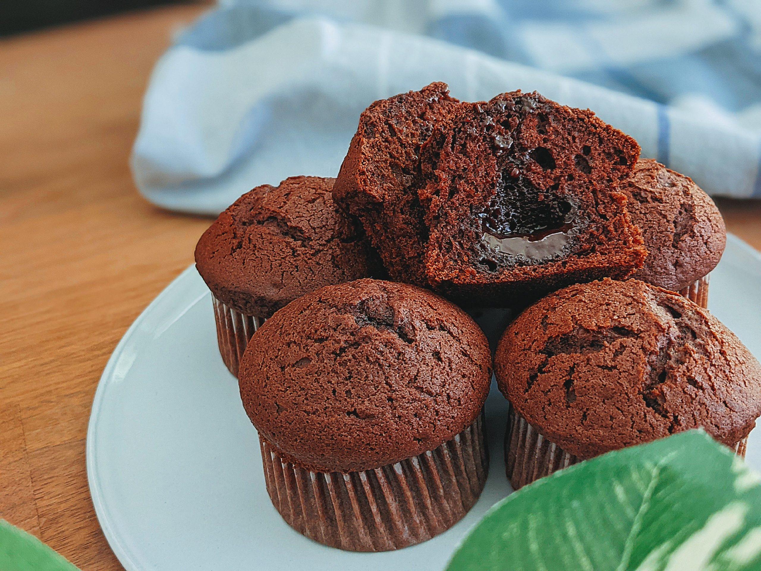 レシピ チョコレートマフィン オイル バター不使用 バレンタイン