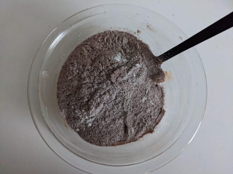 ダブルチョコレートパウンドケーキ レシピ バレンタイン