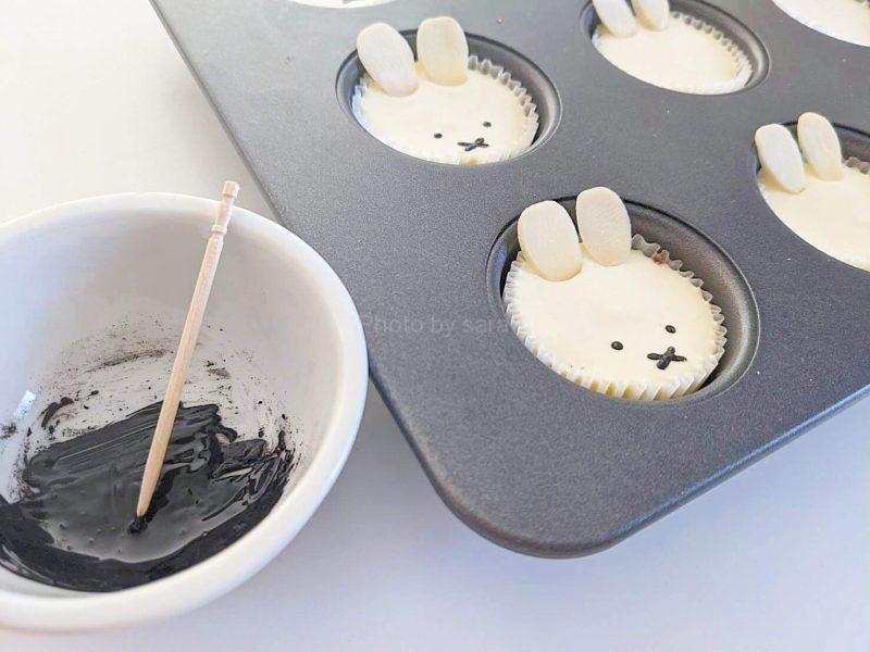 ミッフィー レアチーズケーキ マフィン型 レシピ 簡単