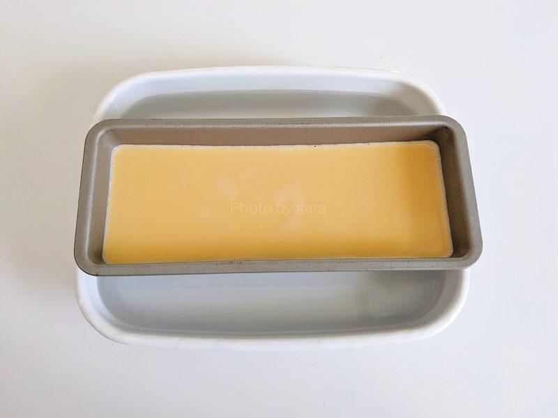 固めプリン レシピ パウンド型 簡単な作り方