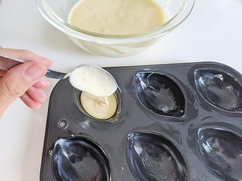 レモンケーキ レモン型 簡単レシピ 作り方