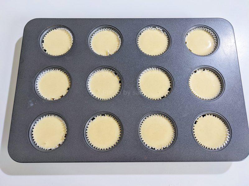 簡単プチレモンケーキ ミニマフィン レシピ 作り方