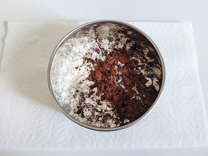 チョコレートシフォンケーキ レシピ 作り方 簡単