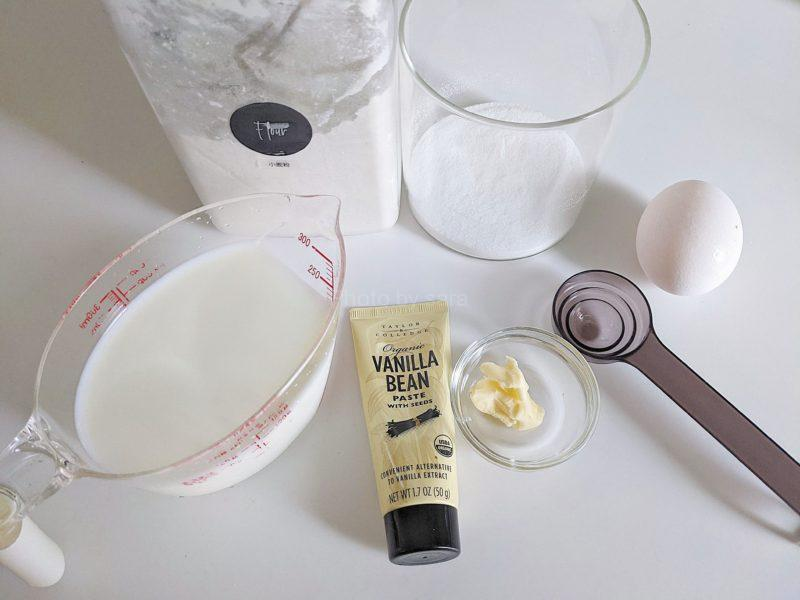 全卵カスタードクリーム 電子レンジ 簡単 レシピ