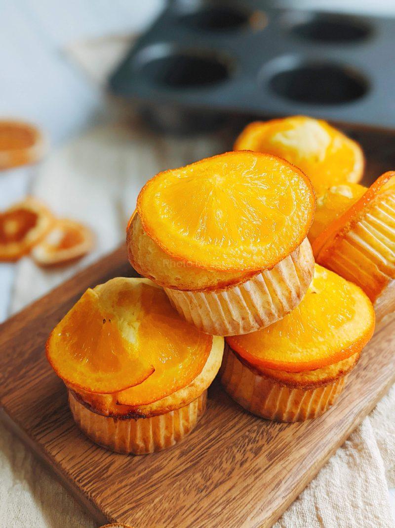 オレンジマフィン オレンジコンポート 簡単レシピ