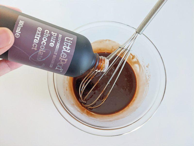 チョコムース チョコレート 簡単レシピ 水